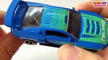 Tomica & Hot Wheels | Ford Mustang Vs Honda CR-Z Safety | Kids Cars Toys Videos HD Collection