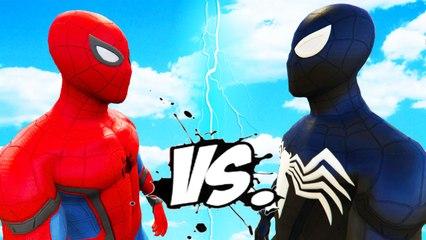 SPIDERMAN VS SYMBIOTE SPIDER-MAN - EPIC BATTLE