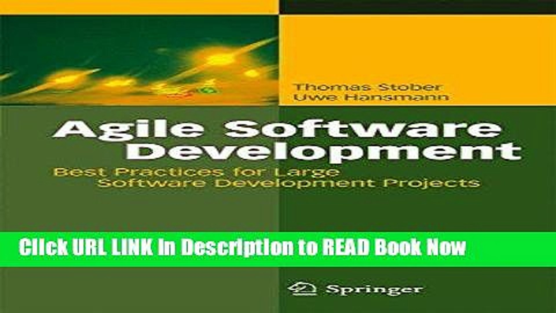 [Popular Books] Agile Software Development: Best Practices for Large Software Development