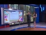 Entertainment News - Tanya Barli Asmara - Celana skinny, sneakers, fashion hijau