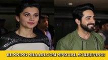 Running Shaadi.com | Special Screening | Taapsee Pannu, Ayushman Khurana