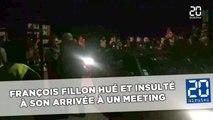 François Fillon hué et insulté à son arrivée à un meeting
