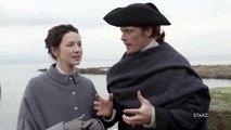 Outlander - Sam Heughan et Caitriona Balfe sur le tournage de la saison 3