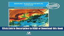 [Download] Marine Biogeochemical Cycles, Second Edition Download Online