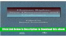 [Read Book] Human Rights: New Dimensions and Challenges : UNESCO Manual on Human Rights (UNESCO