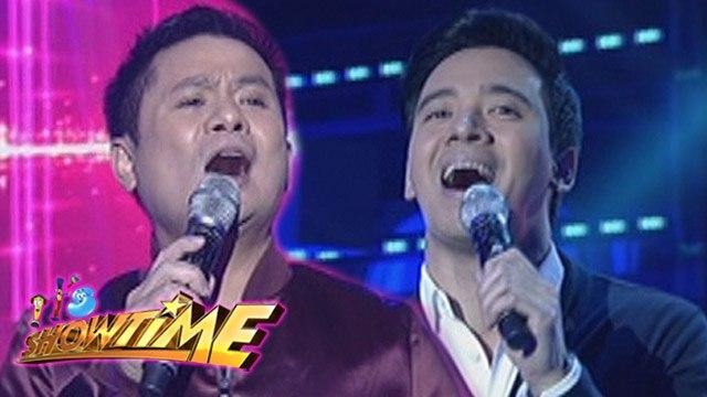 "It's Showtime: Erik Santos and Ogie Alcasid sing ""Pangarap Ko Ang Ibigin Ka"""