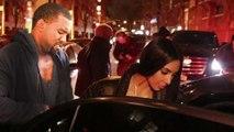 Kim Kardashian & Kanye West Spotted on VALENTINE'S DAY In NYC   KIMYE Celebrate Valentines