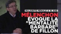 Contre la majorité pénale de Fillon, Mélenchon propose le droit de vote à 16 ans