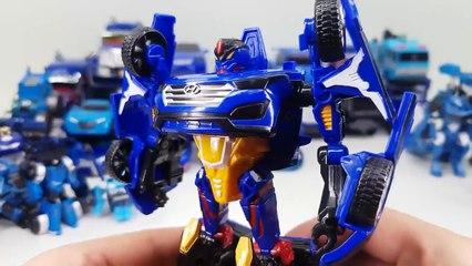 Blue Color Transformers Carbot Tobot Optimus Prime Truck Bus 40 Vehicle Transformation Robot Car Toy