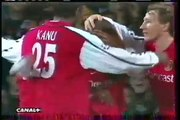 13.02.2001 - 2000-2001 UEFA Champions League 2nd Group Round Group C Matchday 3 Olympique Lyon 0-1 Arsenal