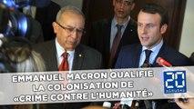 Algérie: Macron qualifie la colonisation de «crime contre l'humanité»
