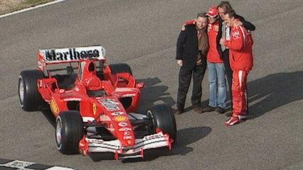Die nackte Göttin - Die Evolution von Ferrari F1