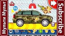 Coches de ensueño de la Fábrica de Coche de Policía Mejor iOS App de juegos para Niños de dibujos animados sobre los Coches Coche serv