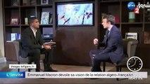 """Présidentielle 2017 : en Algérie, Macron qualifie la colonisation de """"crime contre l'humanité"""""""