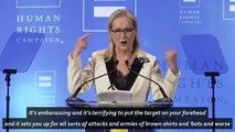 Meryl Streep responds to Trump calling her 'overrated'