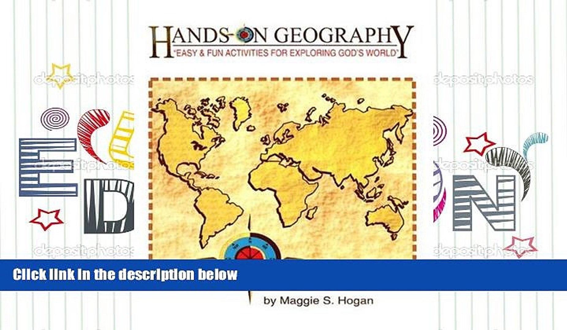 Download [PDF] Hands-On Geography *NOP Pre Order