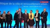 """Rennes. Hollande. """"La maire de Rennes connaît tous les habitants"""""""