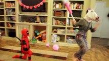 Little Spiderman vs Supergirl, Trampoline Park Fun In Real Life Trampoline Comic   SuperHe