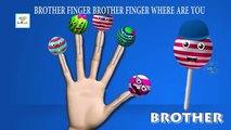The Finger Family Lollipop Family Nursery Rhyme | Lollipop Finger Family Songs | Daddy Finger Rhymes