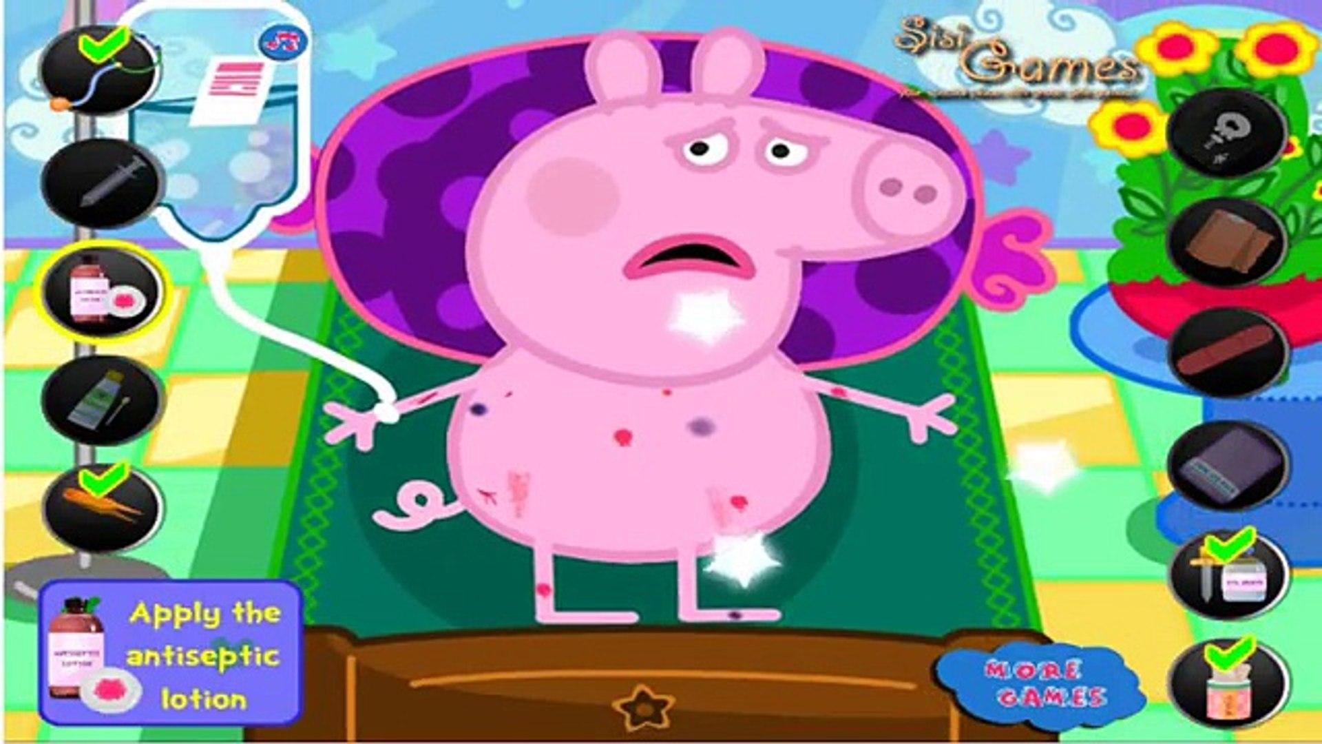 Videos la Peppa Pig Doctor Jogos de meninas new HD ( Games for Kids)