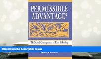 Download [PDF]  Permissible Advantage?: The Moral Consequences of Elite Schooling (Sociocultural,