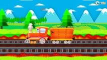 Caricaturas de trenes - Trenes infantiles - Vídeos de Trenes - Dibujos Animados Educativos