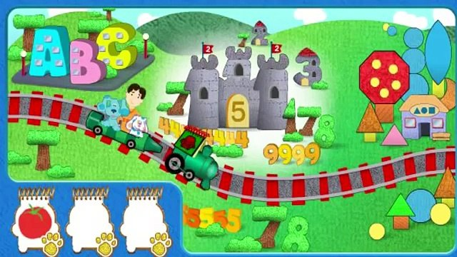 Blues Golden Clues - Blues Clues Cartoon Game For Kids
