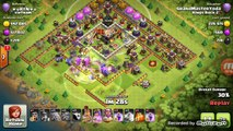 HOW TO THREE STAR ANY BASE USING GROUND CLASH OF CLANS STRATEGY- MINER  BOWLER BUFF SUPERCELL