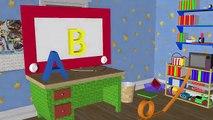 alphabet song for children - abc songs for kindergarten - a b c d have fun teaching
