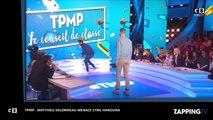 Cyril Hanouna - TPMP : Matthieu Delormeau menace l'animateur (vidéo)