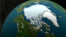 Antarctic Sea Ice Reaches Record Low