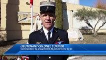 Alpes-de-Haute-Provence/ bleu à l'âme : Une cérémonie d'hommage aux gendarmes décédés à Digne-les-Bains