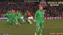Paul Pogba Shoot Hits Bar HD - Manchester United 1-0 Saint-Etienne 16.02.2017