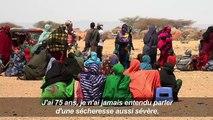 La sécheresse force les Somaliens à fuir leurs habitations
