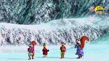Ringa Ringa Roses Song - 3D Animation Frozen English Nursery Rhymes songs with Lyrics