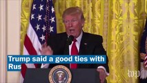 Donald Trump's grievance-filled news conference, in less than 5 minutes