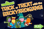 Soñadores Dulces o cosas desagradables halloween party | The Backyardigans Trick or Treat