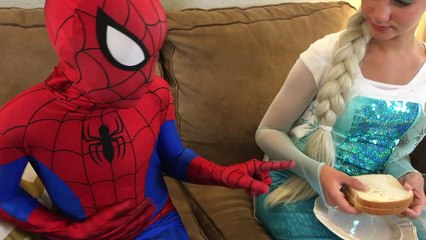 Spiderman tooth pulled Princess Marian! - Funny Superhero Movie in Real Life :)