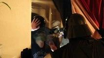 Star Wars Darth Vader vs Zombies In Real Life Superhero Movie!