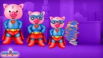 Spiderman y de Peppa Pig Dedo de la Familia de las Canciones Para los Niños de los Superhéroes de Rimas