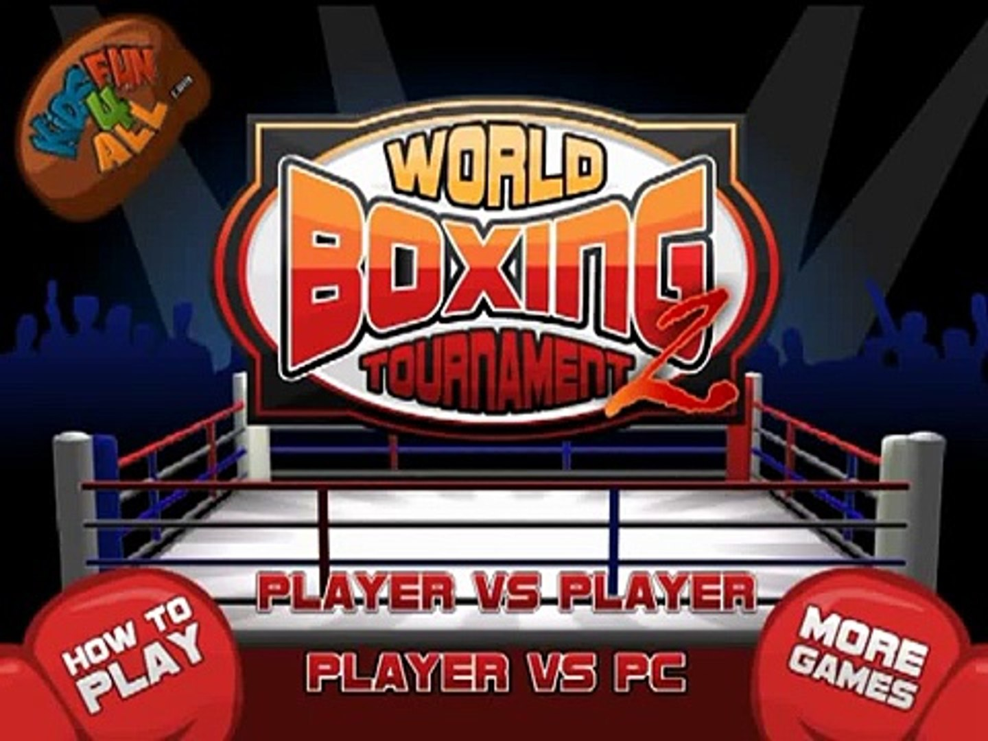 World Boxing Game Tournament Game for Kids