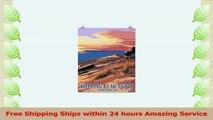 Sleeping Bear Dunes Michigan  Dunes Sunset and Bear 16x24 Giclee Gallery Print Wall 93adf0e2