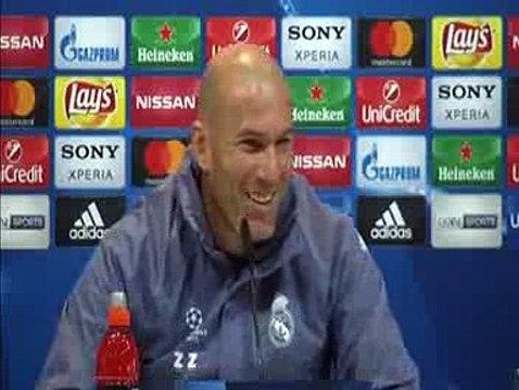 Real Madrid ready to take on Napoli, says Zidane