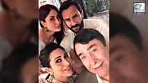 Kareena Kapoor Celebrates Dad Randhir's Grand Birthday Party | Saif Ali Khan | Karisma