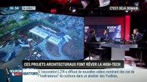 La chronique de Frédéric Simottel: Les projets architecturaux qui font rêver la high-tech - 17/02