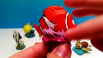 Finding Nemo 9 Figures Playset by Disney Pixar - Nemo Marlin Dory Squirt Bruce
