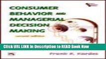 [Best] Consumer Behavior and Managerial Decision Making Online Books