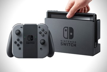 Nintendo Switch : l'interface dévoilée !
