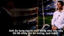 Cristiano Ronaldo nhận xét về Ibra cực bá đạo