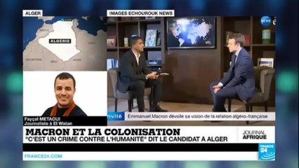 Macron et la colonisation : les réactions en Algérie